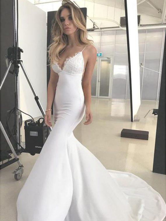 thin-straps-mermaid-wedding-dresses-lace-neckline_500x